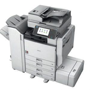 Hướng dẫn cách chỉnh màn hình cảm ứng máy photocopy Ricoh