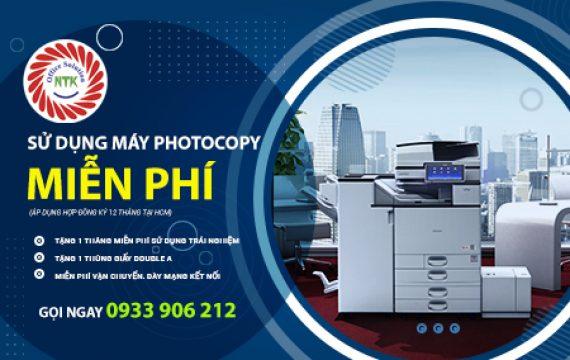 Sử dụng máy photocopy miễn phí