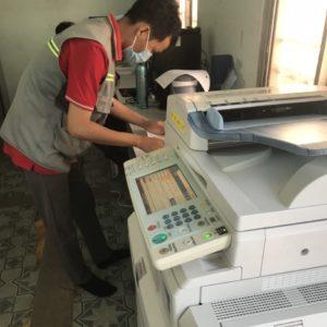 Cho thuê máy photocopy cho công ty cơ nhiệt điện lạnh tại Long An