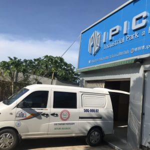 Giao máy photocopy cho công ty xây dựng tại Lagi Bình Thuận