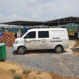 Giao máy photocopy cho công ty xây dựng tại Cà Mau
