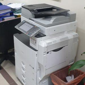 Giao máy photocopy tại ngân hàng quận 5