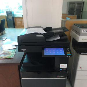 Giao máy photocopy màu cho công ty tại Phường Tân Thới Nhất – Quận 12