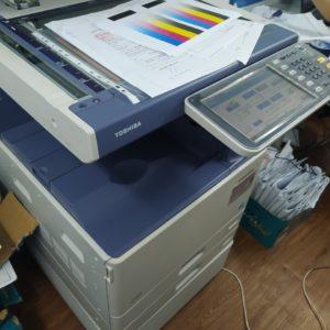 Cho thuê máy photocopy màu Toshiba cho công ty xây dựng tại Phú Quốc
