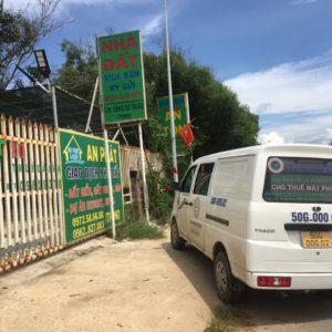 Giao máy photocopy cho công ty tại Phan Thiết, Bình Thuận